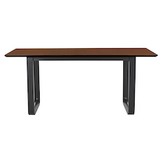 Ulmer 8 Seater Dining Table - Walnut - Image 1