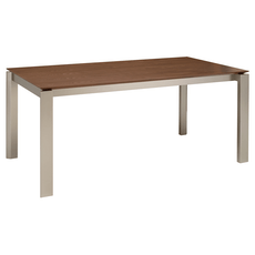 Elwood 8 Seater Dining Table - Cocoa - Image 1