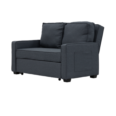 Arturo 2 Seater Sofa Bed - Granite - Image 2