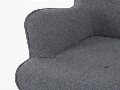 Rio Lounge Chair - Carbon - Image 2