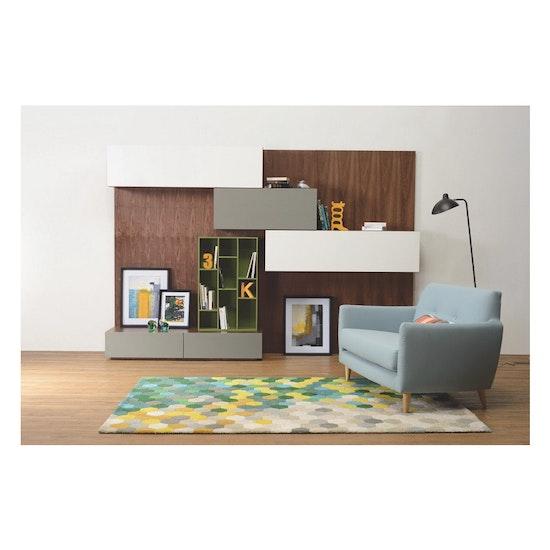 Shape - Vito 1M Hanging Cabinet - Walnut