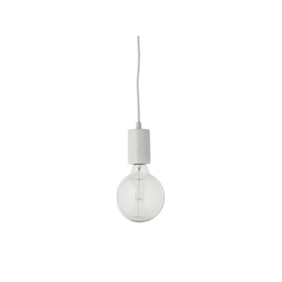 Flint Pendant Lamp - White - Image 1