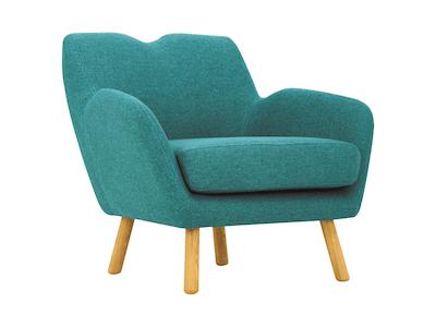 Joanna Lounge Chair - Nile Green - Image 1