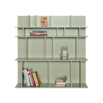 Wilson Short Wall Shelf - Dust Green - Image 2