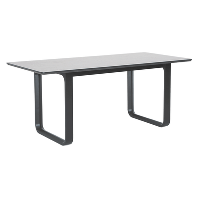 Ulmer Dining Table 1.8m - White Grey - Image 2