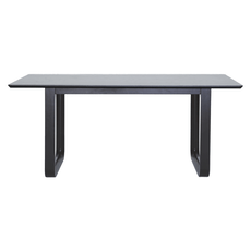 Ulmer 8 Seater Dining Table - White Grey - Image 1