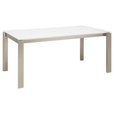 Elwood 8 Seater Dining Table - White - Image 1