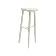 Paige Bar Stool - White - Image 2