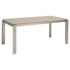 Elwood 8 Seater Dining Table - Taupe Grey - Image 1