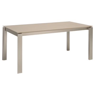 Elwood Dining Table 1.8m - Taupe Grey - Image 1