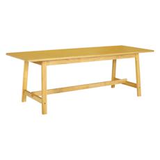 Haynes 8 Seater Dining Table - Oak - Image 1