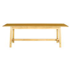 Haynes 8 Seater Dining Table - Oak - Image 2