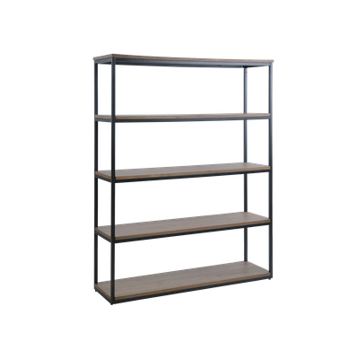 Brittany 5-Tier Shelf - Walnut - Image 2