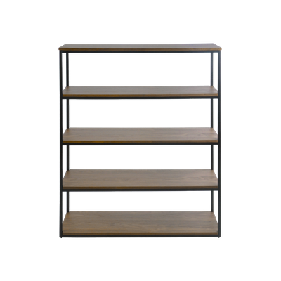 Brittany 5-Tier Shelf - Walnut - Image 1