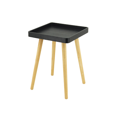 Garrett Side Table - Black (Set of 4) - Image 1
