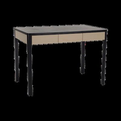 Mabon Working Desk with Storage - Black Ash - Image 2