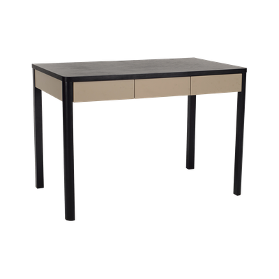 Mabon Working Desk with Storage - Black Ash - Image 2