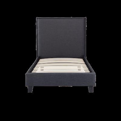 Hank Super Single Headboard Bed - Carbon - Image 1