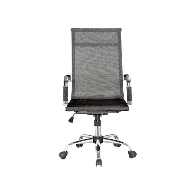 Eames High Back Mesh Office Chair - Black - Image 1