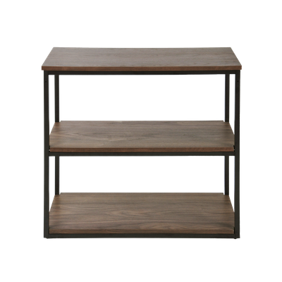 Brittany 3-Tier Shelf - Walnut - Image 1