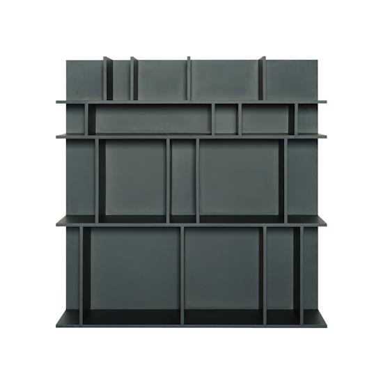 Shape - Wilson Short Wall Shelf - Charcoal Grey