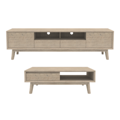 Leland TV Console 2m with Leland Coffee Table - Image 1