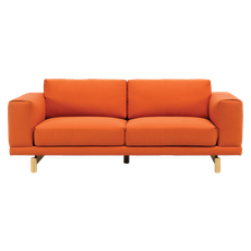 Monza 3 Seater Sofa - Carrot - Image 2