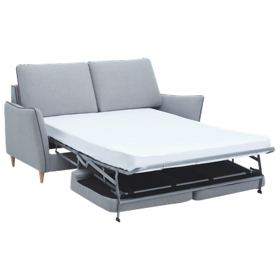 Agera Sofa Bed - Pale Silver - Image 2