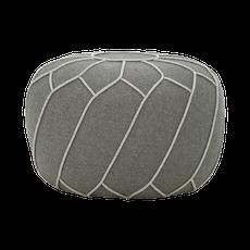 Saturn Pouf - Battleship Grey - Image 2