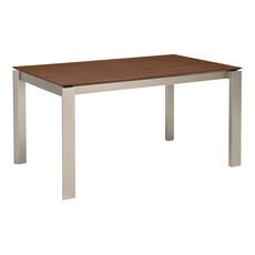 Elwood 6 Seater Dining Table - Cocoa - Image 1