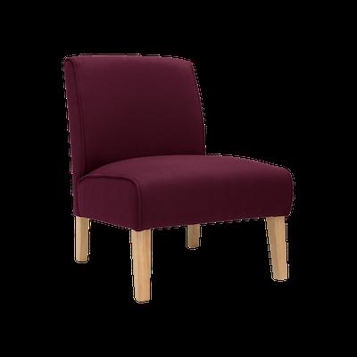 Maya Lounge Chair - Natural, Ruby (Set of 2) - Image 2