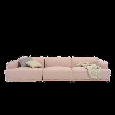 Flex 4 Seater Sofa - Champagne - Image 1