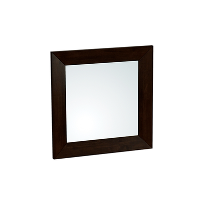 Daffodil Square Wall Mirror 80 cm - Light Cappuccino - Image 1