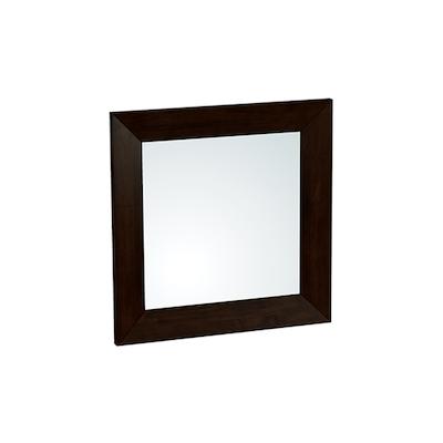 Daffodil Square Wall Mirror 80 cm - Light Cappuccino - Image 1