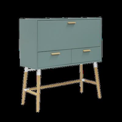 Araud Working Desk - Sage Green - Image 1
