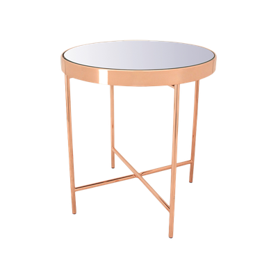 Xander Mirror Side Table - Image 2
