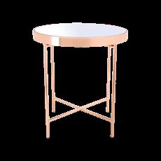 Xander Mirror Side Table - Image 1