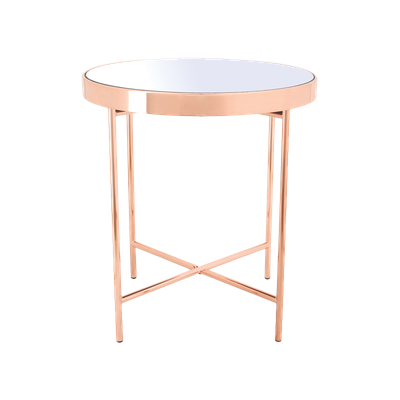 Xander Mirror Side Table - Image 1