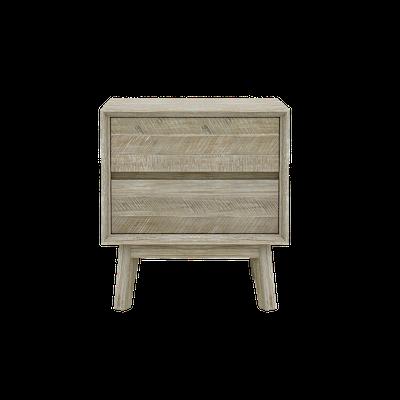 Leland Twin Drawer Bedside Table - Image 2