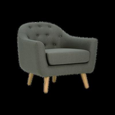 Senku Lounge Chair - Grey - Image 1