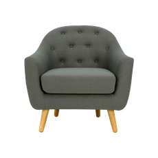 Senku Lounge Chair - Grey - Image 2