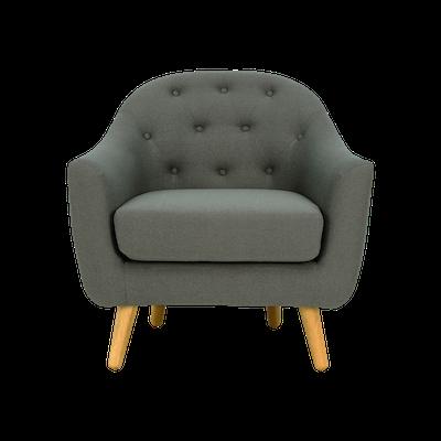 Senku Lounge Chair - Grey - Image 2