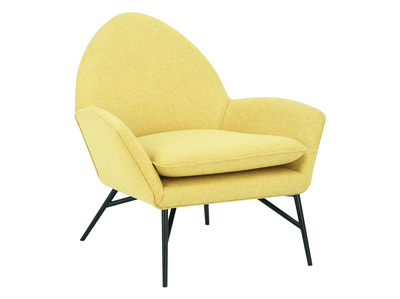 Esther Lounge Chair - Yellow - Image 1
