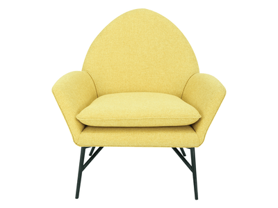 Esther Lounge Chair - Yellow - Image 2