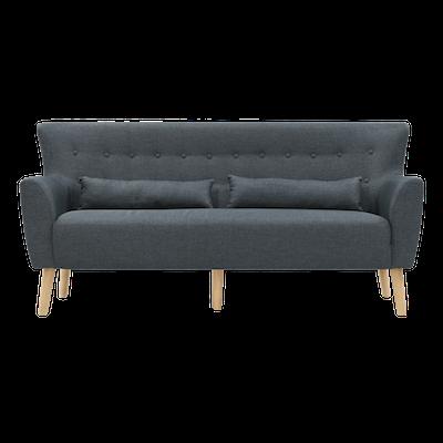 Sofia 3 Seater Sofa - Carbon - Image 1
