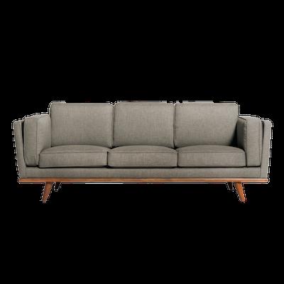 Carter 3 Seater Sofa - Sandstone - Image 1