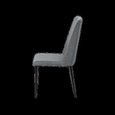 Jake Dining Chair - Black, Grey (Set of 2) - Image 2