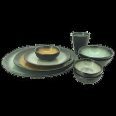 Lilac Small Bowl - Green (Set of 4) - Image 2