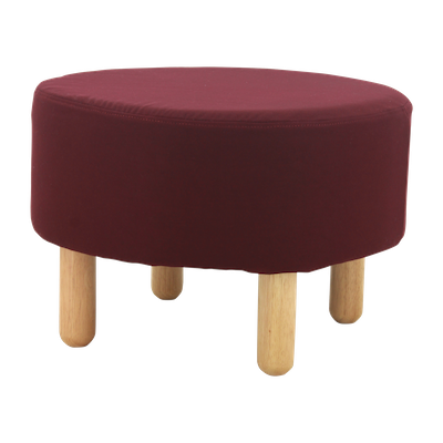 Millie Stool - Natural, Ruby - Image 1