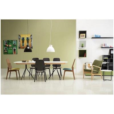 Miranda Dining Chair - Black, Lava (Set of 2) - Image 2